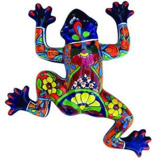 Butler Arts Talavera Clay Hanging Frog DISCONTINUED TL FRO08