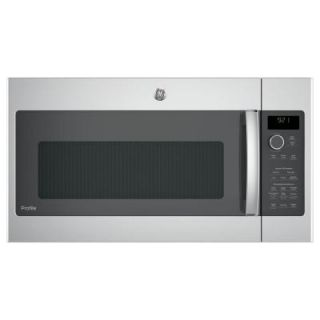 GE Profile 2.1 cu. ft. Over the Range Sensor Microwave Oven in Stainless Steel PNM9216SKSS
