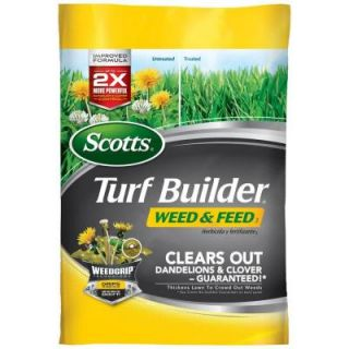 Scotts 43 lb. 15 M Turf Bulider Weed and Feed 25009