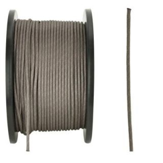 Crown Bolt 1/8 in. x 500 ft. Gray Paracord 52880