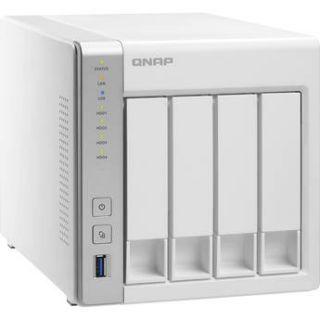 QNAP TS 431 16TB (4 x 4TB) 4 Bay NAS Server Kit with Seagate