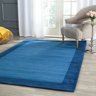Safavieh Handmade Himalaya Light Blue/ Dark Blue Wool Rug (11 x 15)