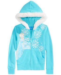 Frozen Elsa Little Girls Snowflake Hoodie   Kids & Baby
