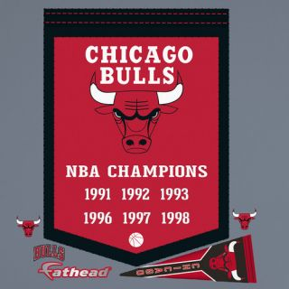 NBA Championship Banner Wall Decal by Fathead