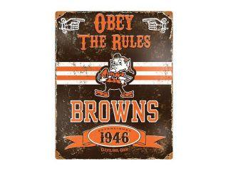 Party Animal, Inc. VSBR Vintage Sign   Browns