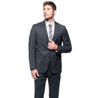 Calvin Klein Mens Two Piece Slim Fit Wool Suit