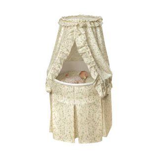 Badger Basket Empress Round Baby Bassinet I