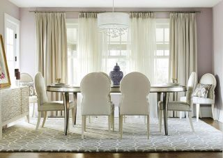 Understated Glam Dining Room   Photos by KBW & Associates