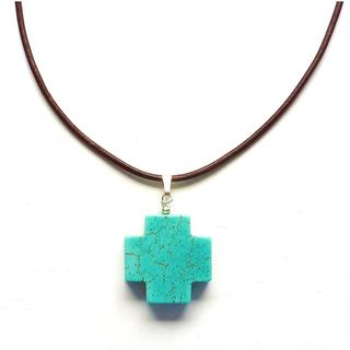 Every Morning Design Ceramic Heart On Garnet Necklace   15344878