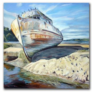 Colleen Proppe Inverness Boat Canvas Art   13658393