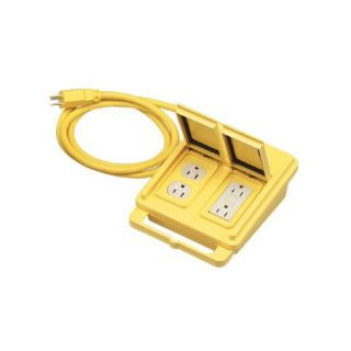 Coleman Cable for Ground Fault Circuit Interrupters Quad Boxes