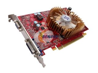 MSI Radeon HD 4650 DirectX 10.1 R4650 D512 512MB 128 Bit GDDR2 PCI Express 2.0 x16 HDCP Ready Video Card