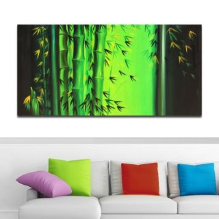 Abstract Bamboo Hand Painted Art   Shopping