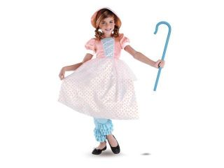 Girls Bo Peep Deluxe (As Shown&#59;7 To 8)