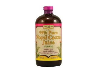 Only Natural Nopal Cactus Juice   32 Fl Oz