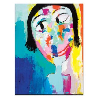 Happy Face by Kirsten Jackson Painting Print on Canvas by Artist Lane