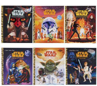 Star Wars Little Golden Books Box Set —