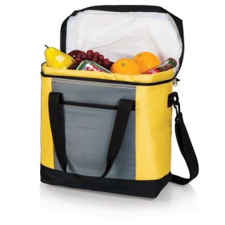 Montero Yellow Insulated Shoulder Food Totes   Shopping
