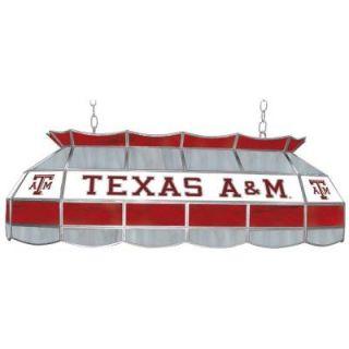 Trademark Texas A&M University 3 Light Gold Tiffany Lamp LRG4000 TAMU