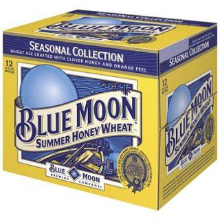 Blue Moon Summer Honey Wheat Ale, Seasonal  Ale (12 oz. bottles, 12 pk. )
