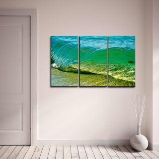 Nicola Lugo Surf Photography Canvas Art 3 piece Set