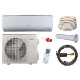 GREE High Efficiency 24,000 BTU 2 Ton Ductless Mini Split Air Conditioner and Heat Pump Kit   230V/60Hz RIO24HP230V1AKIT