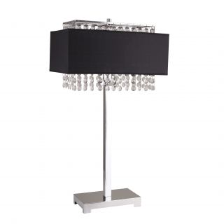 Milton Green Star Shannon 27.5 Table Lamp with Rectangular Shade