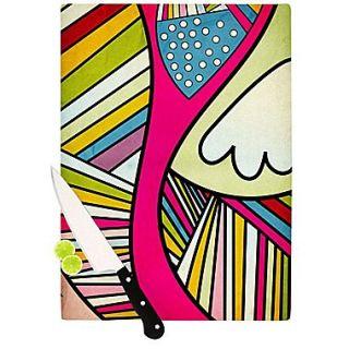 KESS InHouse Fake Colors Cutting Board; 11.5 H x 15.75 W x 0.15 D