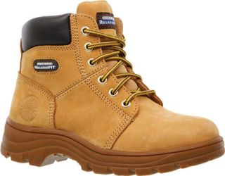 Womens Skechers Work Relaxed Fit Workshire Fitton   Wheat