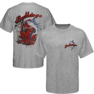 Georgia Bulldogs Pale Ale T Shirt   Ash