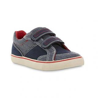 Roebuck & Co. Boys Kenny Blue/Red Sneaker   Clothing, Shoes & Jewelry