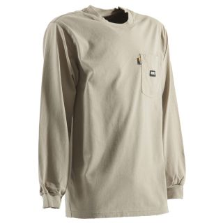 BERNE APPAREL Xxx Large Khaki T Shirt