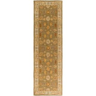 Artistic Weavers Middleton Willow Moss 2 ft. 3 in. x 10 ft. Indoor Rug Runner AWHR2049 2310