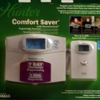 Hunter Comfort Saver Programmable Thermostat
