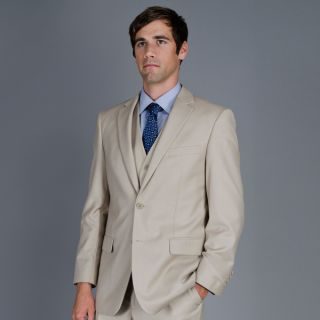 Mens 2 Button Vested Suit   Shopping