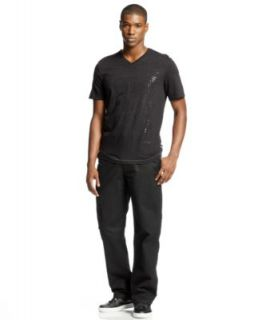 Sean John Lost Angels T Shirt and Linen Utility Pants