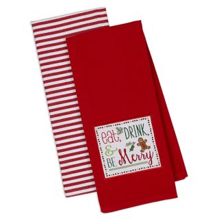 Be Merry Dishtowel (Set of 2)   17568945   Shopping