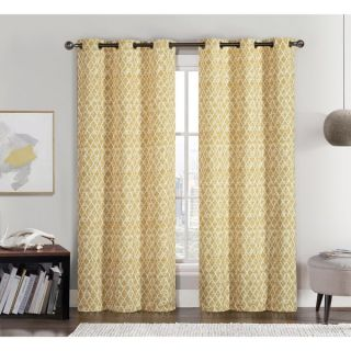 VCNY Amadora Grommet Top 84 inch Curtain Panel Pair