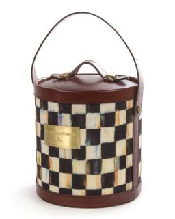 MacKenzie Childs Courtly Expedition Ice Bucket