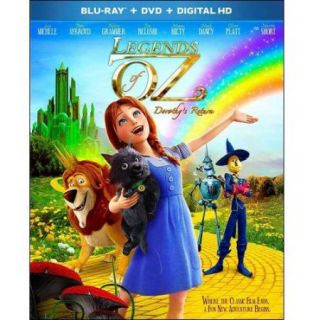Legends Of Oz: Dorothy's Return (Blu ray + DVD + Digital HD) (With INSTAWATCH) (Widescreen)