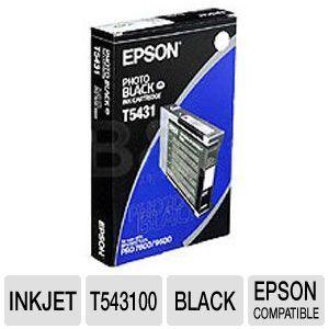 Epson UltraChrome   110 ml   black   original   print cartridge (photo)   for Stylus Pro 4000, Pro 4000 C4, Pro 4000 C8, Pro 4400, Pro 7600, Pro (T543100)