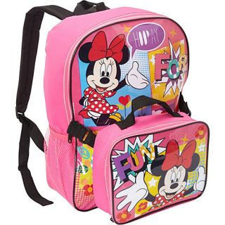 Disney Minnie Mouse Backpack with Lunch Box