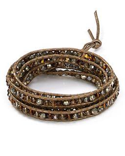 Chan Luu Leather Mix Cord Wrap Bracelet