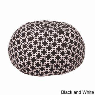 Small/ Toddler 100 percent Cotton Gotcha Hatch Pattern Print Bean Bag