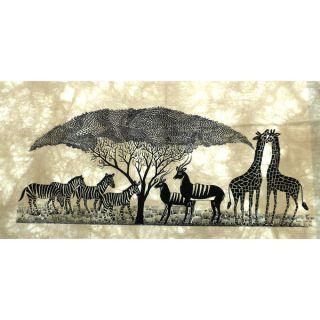 African Wildlife Heidi Lange Screen Print (Kenya)   Shopping