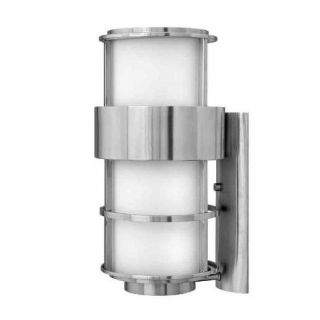Hinkley Lighting 1905SS Saturn 1 Light Outdoor Wall Sconce in Stainless Steel
