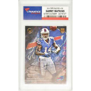Sammy Watkins Buffalo Bills  Authentic Autographed 2014 Topps Valor Rookie #150 Card