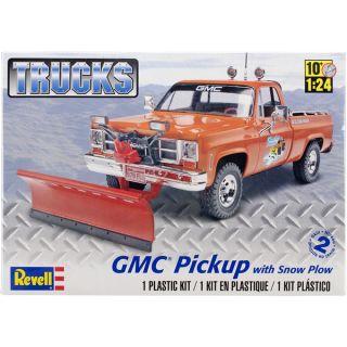 Plastic Model Kit GMC Pickup w/Snow Plow 1/24   17087271