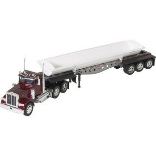 Die-Cast Truck Replica — Peterbilt 379 Side Dump Truck, 1:32 Scale, Model# 13813