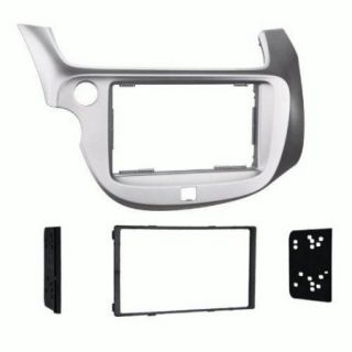 Metra 2009   2013 Honda Fit Dash Kit Double Din for Radio Install Silver